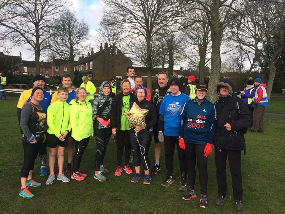 Parkrun Group 9th Feb